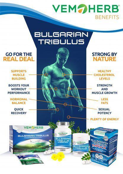 Benefits: VemoHerb Bulgarian Tribulus