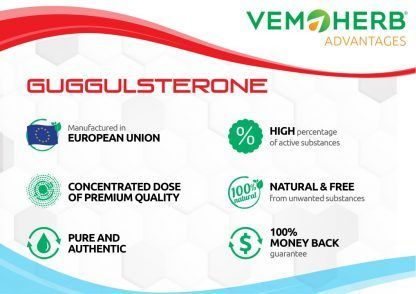 Advantages: VemoHerb Guggulsterone