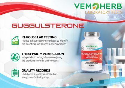 Laboratory Tests: VemoHerb Guggulsterone