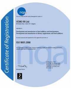 CertificateISO90012008EN