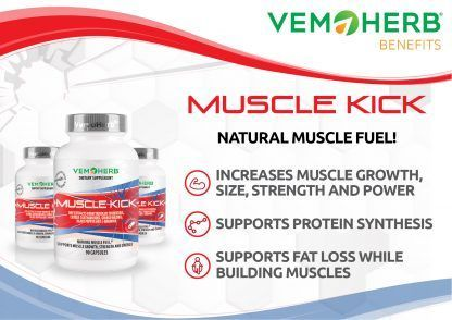 Benefits: VemoHerb Muscle Kick
