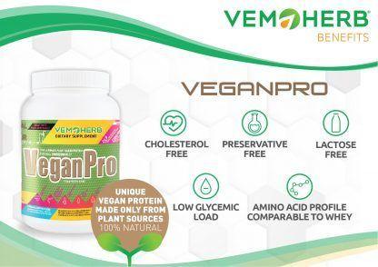 Benefits: VemoHerb VeganPro