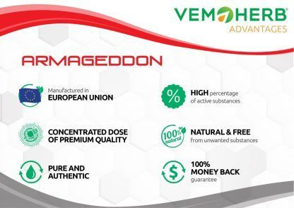 Advantages: VemoHerb Armageddon