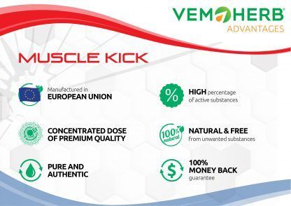 Advantages: VemoHerb Muscle Kick