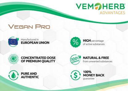 Advantages: VemoHerb VeganPro