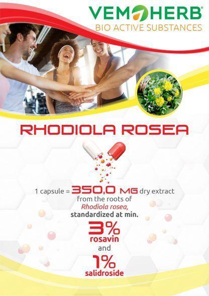 Bioactive Substances: VemoHerb Rhodiola Rosea
