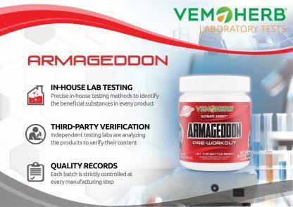 Laboratory Tests: VemoHerb Armageddon
