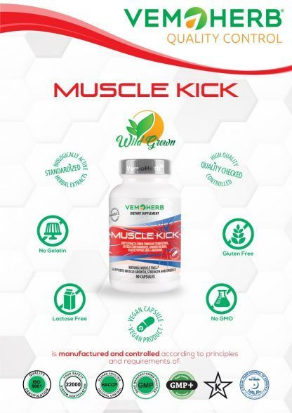 Quality Control: VemoHerb Muscle Kick