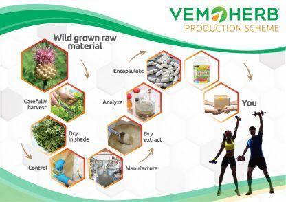 Production Scheme: VemoHerb VeganPro