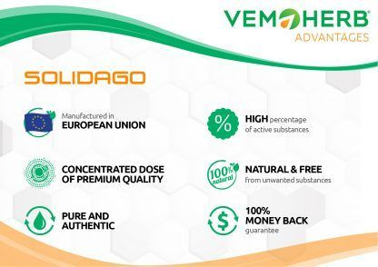 Advantages: VemoHerb Solidago