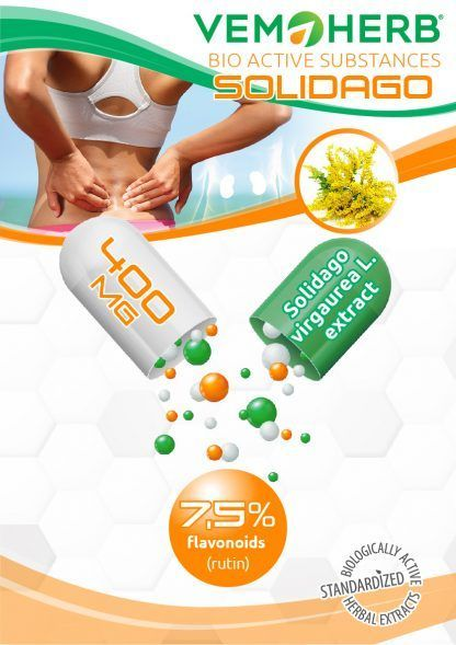 Bioactive Substances: VemoHerb Solidago