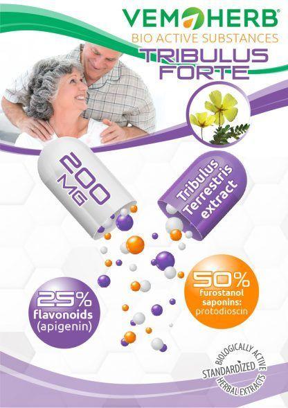 Bioactive Substanes: VemoHerb Tribulus Forte