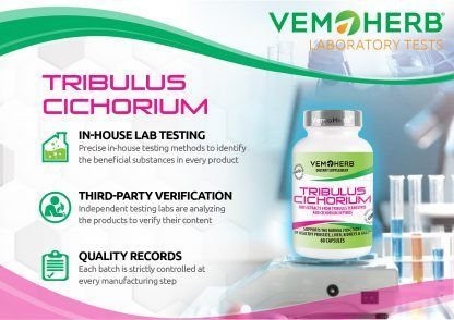 Laboratory Tests: VemoHerb Tribulus Cichorium