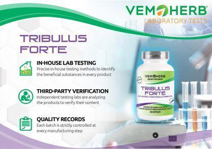 Laboratory Tests: VemoHerb Tribulus Forte
