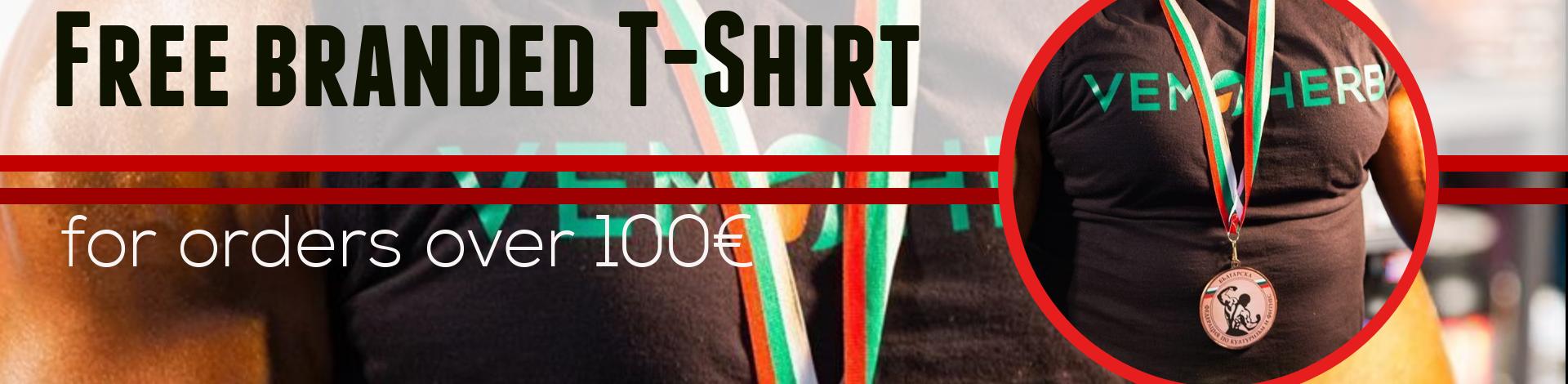vemoherb branded t-shirt
