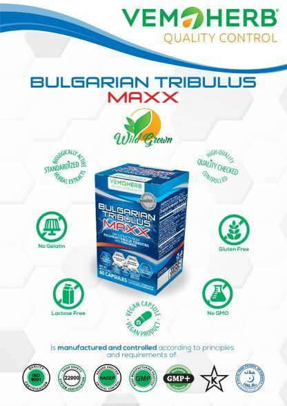 Quality Control: VemoHerb Bulgarian Tribulus MAXX