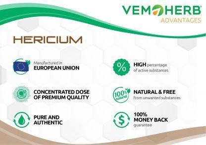 Advantages: VemoHerb Hericium