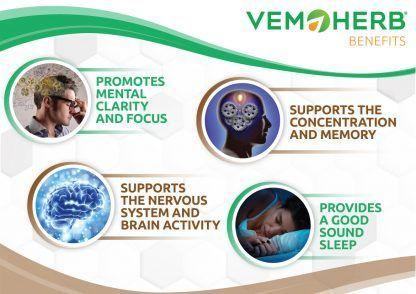 Benefits: VemoHerb Hericium